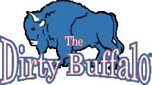 The Dirty Buffalo footer logo